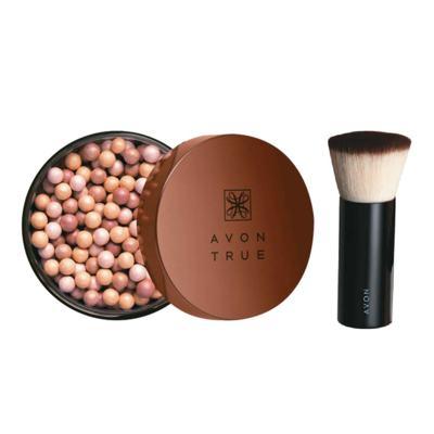 Imagem 1 do produto Kit Pérolas de Efeito Bronzeador Bronze Verão + Pincel Blush