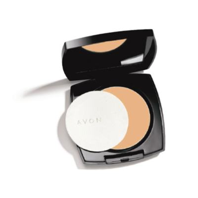 Pó Compacto Matte Avon Ideal Face 11g