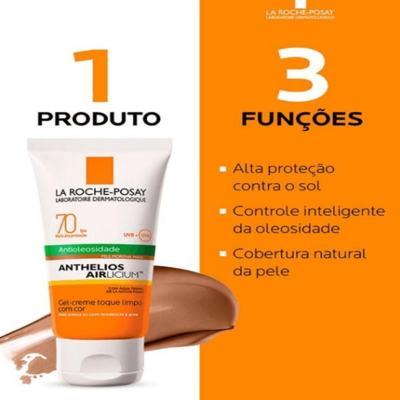 Imagem 8 do produto Protetor Solar Facial com Cor La Roche-Posay - Anthelios Airlicium Fps70 - Morena Mais