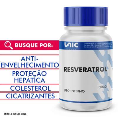 Imagem 1 do produto Resveratrol 30mg - 90 Cápsulas