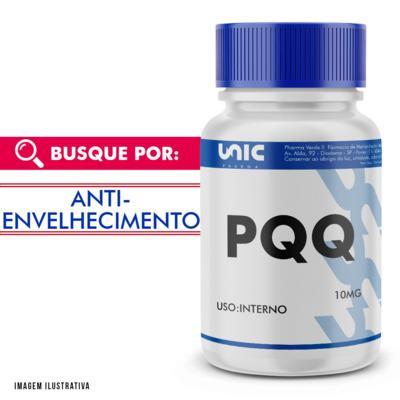 Pqq - pirroloquinolina quinona 10mg - 90 Cápsulas
