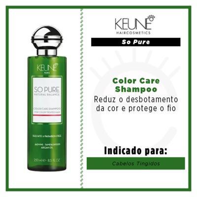 Imagem 3 do produto Keune So Pure Color Care - Shampoo - 250ml