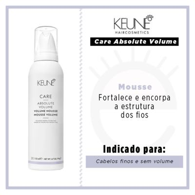 Imagem 3 do produto Keune Care Absolute Volume Mousse - 200ml
