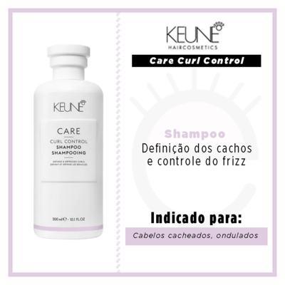 Imagem 3 do produto Keune Care Curl Control Shampoo - 300ml