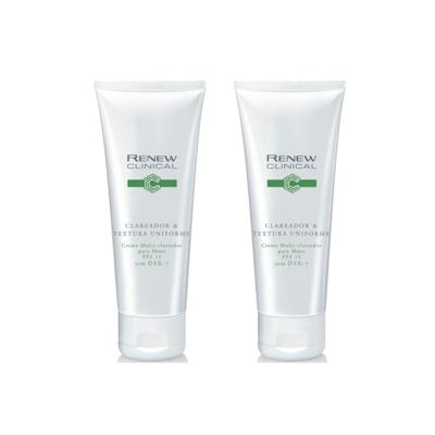 Imagem 1 do produto Kit Renew Clinical Clareador & Textura Uniforme Creme Multi-Clareador para Mãos 75g