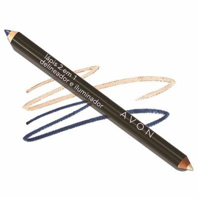 Imagem 1 do produto Lápis Delineador e Iluminador para os Olhos 2 em 1 Avon 0,96g