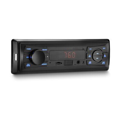 Imagem 2 do produto Som Automotivo Vibe 1 Din MP3 4x25WRMS Rádio FM + Entrada Cartão SD + USB + AUX Multilaser - P3333 - P3333