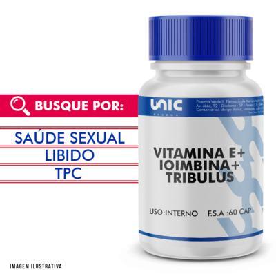 Imagem 1 do produto Vitamina E + Ioimbina + Tribulus 60 Doses