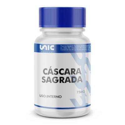 Imagem 2 do produto Cáscara Sagrada 75mg - 120 Cápsulas