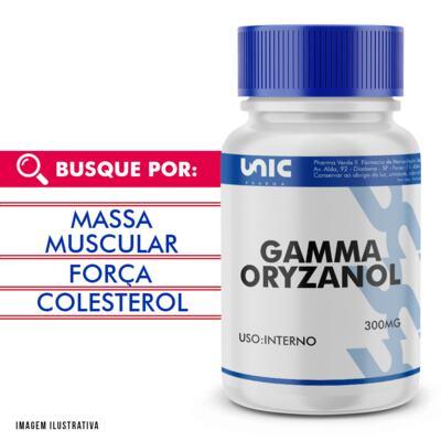 Imagem 1 do produto Gamma oryzanol 300mg - 90 Cápsulas