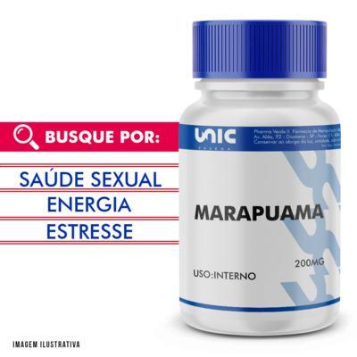 Imagem 1 do produto Marapuama 200mg - 90 Cápsulas