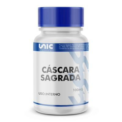 Imagem 2 do produto Cáscara sagrada 100mg - 90 Cápsulas