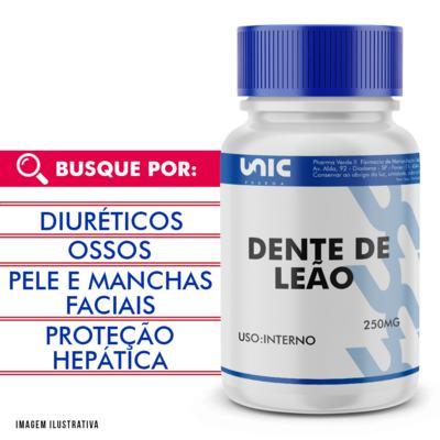 Imagem 1 do produto Dente de Leão 250mg - 90 Cápsulas