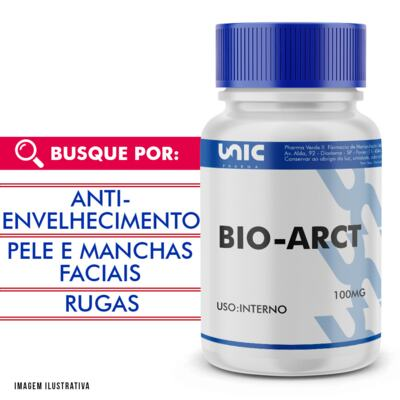 Imagem 1 do produto Bio-arct 100mg com selo de autenticidade - 120 Cápsulas