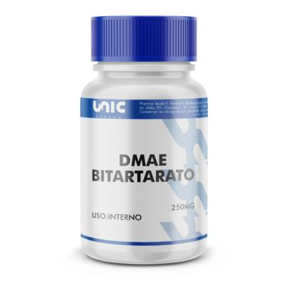 Imagem 2 do produto Dmae bitartarato 250mg - 120 Cápsulas