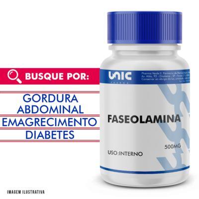 Imagem 1 do produto Faseolamina 500mg - 120 Cápsulas