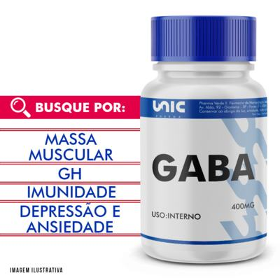 Imagem 1 do produto Gaba 400mg