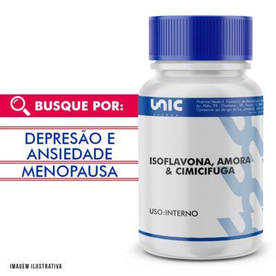 Imagem 2 do produto Isoflavona, Cimicifuga e Amora - 90 Cápsulas