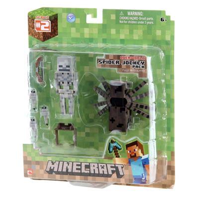 Boneco Spider Jockey Minecraft - BR152 - BR152