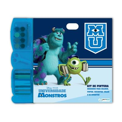 Kit Pintura Monstros University - BR061 - BR061