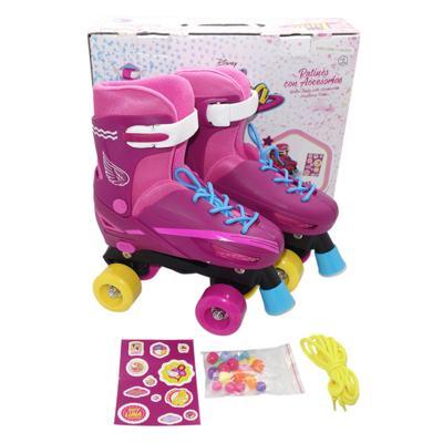 Patins Sou Luna Roller Skaté 4 Rodas Básico Multikids - BR714 - BR714