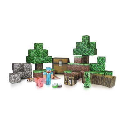 Minecraft Deluxe Figuras Montáveis De Papel Adesivo Multikids - BR151 - BR151
