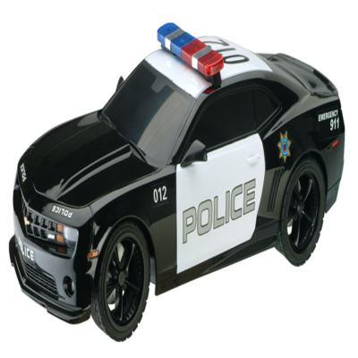 Carrinho De Controle Remoto Xq - Camaro Police Car - 1:18 - BR449 - BR449