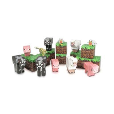Imagem 1 do produto Brinquedo Minecraft Animal Mobs Itens Montaveis Multikids - BR147 - BR147