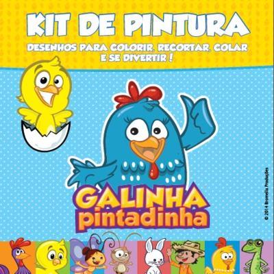 Imagem 1 do produto Kit De Pintura Galinha Pintadinha - BR259 - BR259