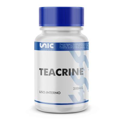 Imagem 2 do produto Teacrine 200mg com selo de autenticidade - 60 Cápsulas