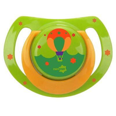 Imagem 1 do produto Chupeta Neopan Bico de Silicone Ortodôntica Tamanho 1 Balão Verde Ref 4834