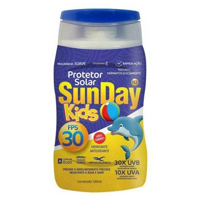 Protetor Solar Sunday Kids FPS 30 120ml