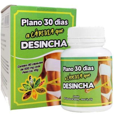 Imagem 1 do produto Plano 30 Dias Desincha 90 Cápsulas de 500mg