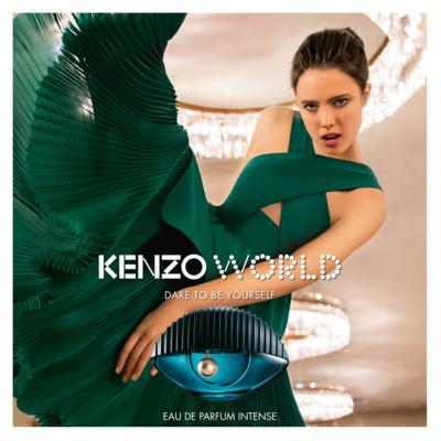 Imagem 3 do produto Kenzo World Intense Kenzo Perfume Feminino - Eau de Parfum - 50ml