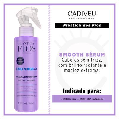 Imagem 2 do produto Cadiveu Liso Mágico Gradual Smooth - Sérum Spray - 215ml