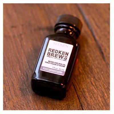 Imagem 4 do produto Óleo para Barba e Cabelos Redken - Brews Beard and Skin Oil - 30ml