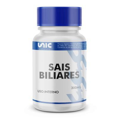 Imagem 1 do produto Sais Biliares 300mg - 90 Cápsulas
