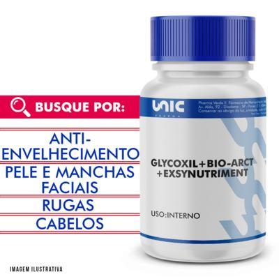 Glycoxil + exsynutriment + bio-arct com selo de autenticidade - 90 Cápsulas
