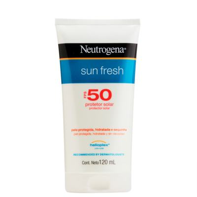 Imagem 9 do produto Protetor Solar Neutrogena Sun Fresh - Fps50 | 120ml