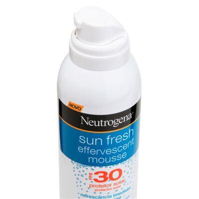 Imagem 2 do produto Protetor Solar Neutrogena Sun Fresh Mousse Efervescente FPS 30 - 200ml