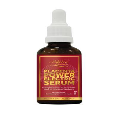 Placenta Power Electric Serum - Peeling ortomolecular energizante bioelétrico com aminoplacenta - 50g