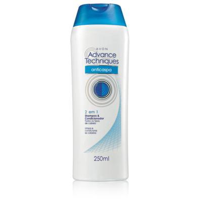 Advance Techniques Anti Caspa 2 em 1 Shampoo e Condicionador