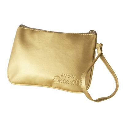 Bolsa de Mão Dourada Surpreendente