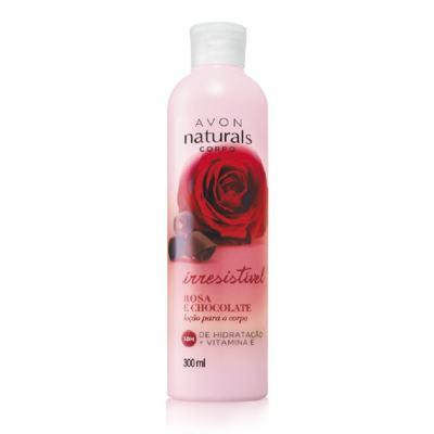 Avon Naturals Loção para o corpo Rosa e Chocolate 300ml