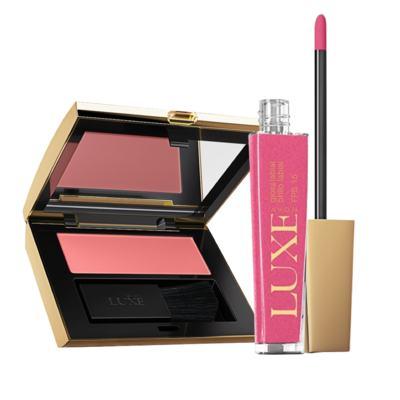 Kit Seda: Blush Rosa Navete + Gloss Rosa Lapidado