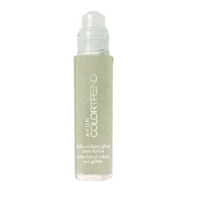 Gloss com Glitter Rollette Color Trend 5,5ml