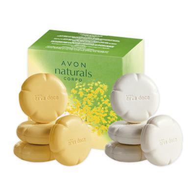 Imagem 1 do produto Estojo para Presente Naturals Sabonete Erva Doce