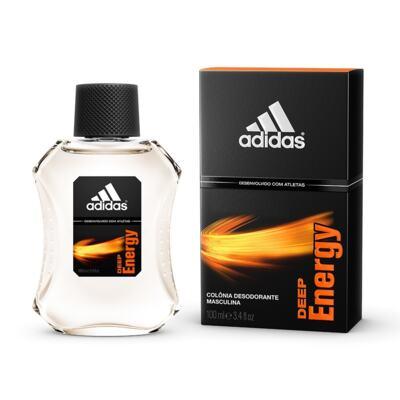 Imagem 2 do produto Colônia Desodorante Adidas Deep Energy 100ml