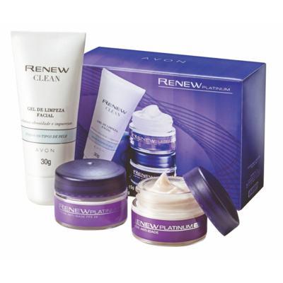 Imagem 1 do produto Minikit de Tratamento Anti-Idade Renew Platinum 60+