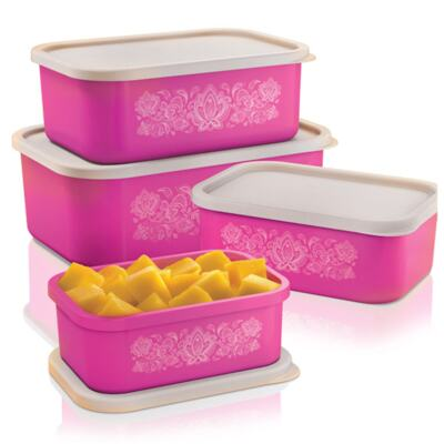 Imagem 1 do produto Kit 4 Potes Innovaware Edição Especial